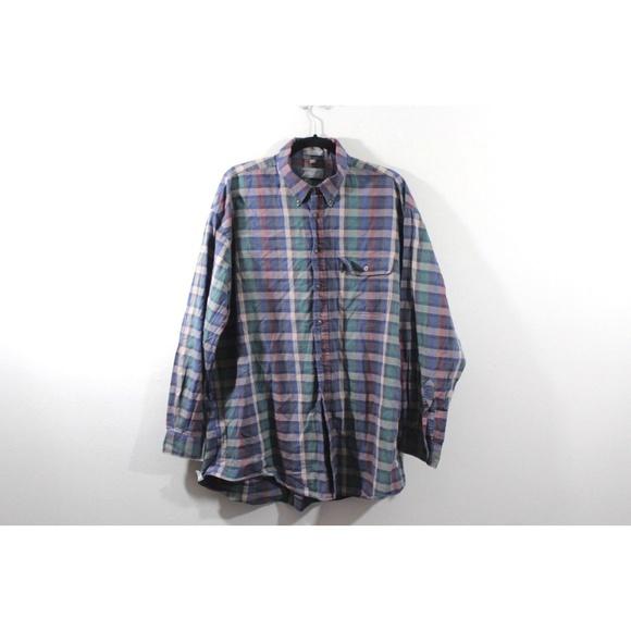 f2890109bbd65c Lord & Taylor Shirts | Vintage 90s Lord Taylor Mens Plaid Shirt Size ...